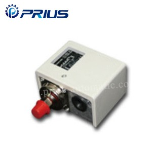 White Pneumatic Components -0.5 ~ 30Bar Single Pressure Switch Manual / Auto Reset