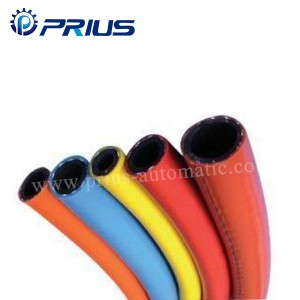 High Pressure Gas Pneumatic Air Tubing PVC Synthetic Fiber Reinforced Hose 1 Mpa – 2Mpa