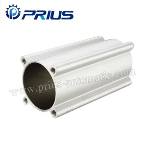 Bore 32mm – 200mm Air Cylinder Accessories SI Series Mickey Mouse Aluminum Tube Barrel