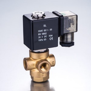 VX Series Two-position Three-way Solenoid Valve