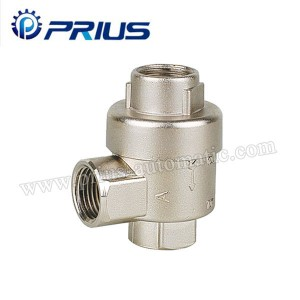 Big Size Air Flow Control Valve XQ Series Quick Exhaust Valve Messing / Zink legering Krop