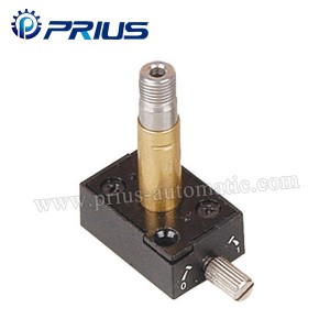 Aluminum Alloy Brass Pneumatic Solenoid valvụ Plunger Kit Guide Head 100 ~ 400 Series