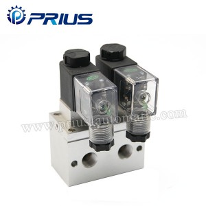 Diaphragm Pneumatic Solenoid Valve MP- 08 Ji bo apparatus Medical / Instruments